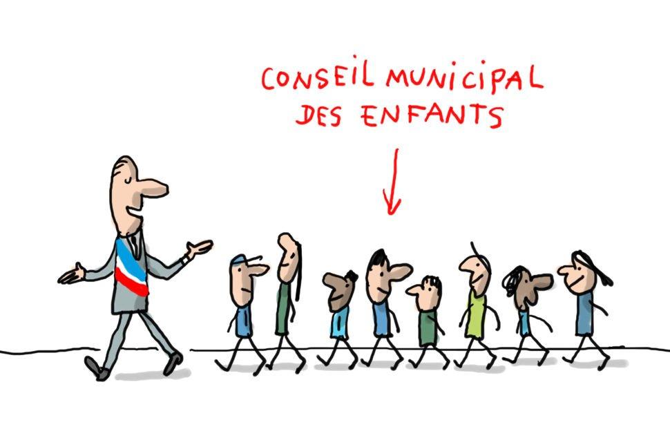 """Un conseil municipal """" des jeunes """""""